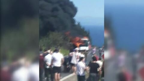 Video for Kiwis still head to Gallipoli after bus inferno