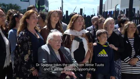 Video for Te Tumu Paeroa welcomes first female trustee Dr Charlotte Severne