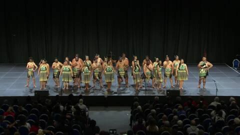 Video for 2020 Kapa Haka Regionals, Ngā Waipuna ā Mata, Mōteatea