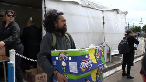 Video for 180 volunteers to look after guest at Te Matatini o te Ao