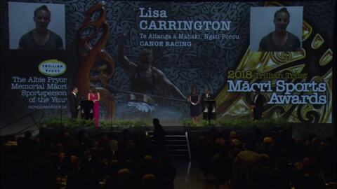 Video for Māori sportstars shine at annual awards - Full Results
