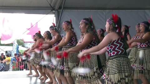 Video for 2020 Kapa Haka Regionals, Tamatea Arikinui, Poi