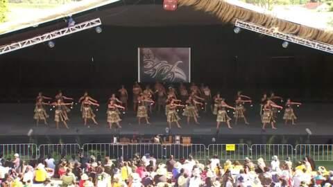 Video for 2020 Kapa Haka Regionals, Ruatāhuna Kākahu Mauku, Poi