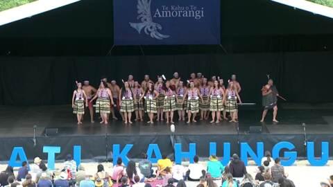 Video for 2020 Kapa Haka Regionals, Ngā Waka, Mōteatea
