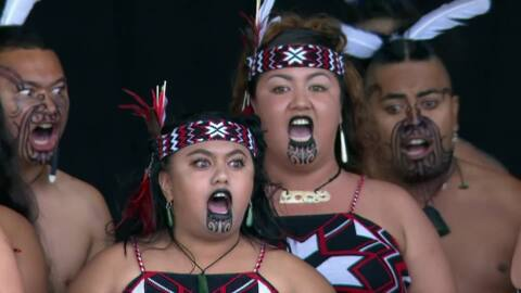 Video for 2020 Kapa Haka Regionals, Te Kapa a Kahukuranui, Mōteatea
