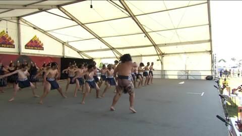 Video for ASB Polyfest 2019, Te Kōtuku/TKKM o Ngā Maungarongo, Haka,