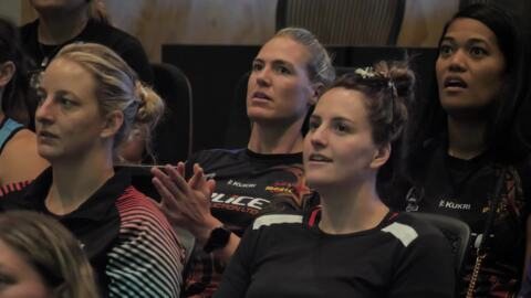 Video for Netball at the highest level celebrates Maori culture in Otaki