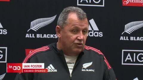 Video for Tuivasa-Sheck not on All Blacks coach's radar - yet