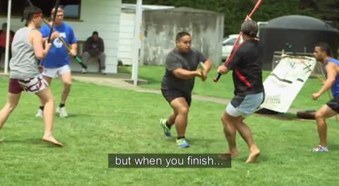 Video for Ngā Pari Kārangaranga, Te Whare Tū Taua o Aotearoa, 5 Ūpoko 5