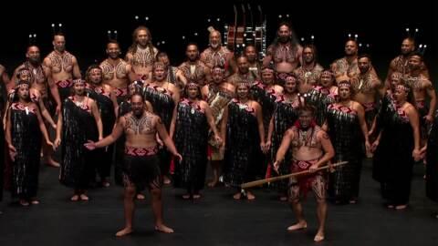 Video for 2020 Kapa Haka Regionals, Te Waka Huia, Waiata Tira