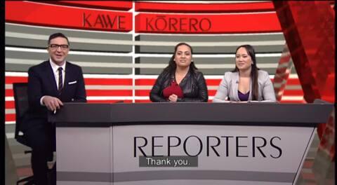 Video for Kawe Kōrero - Reporters, 1 Ūpoko 103