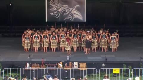 Video for 2020 Kapa Haka Regionals, Ruatāhuna Kākahu Mauku, Whakaeke