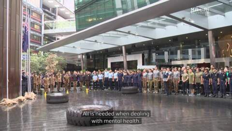 Video for Tower De Force for mental health awareness