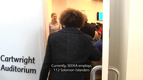 Video for Kiwifruit giant SEEKA hosts Solomon Islands PM