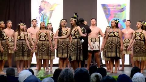 Video for Mātaatua schools compete for spot at kapa haka nationals