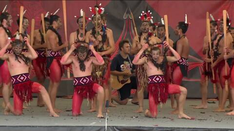Video for ASB Polyfest 2019, Sacred Heart College, Whakawātea