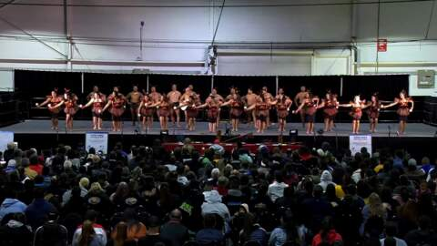 Video for 2020 Kapa Haka Regionals, Te Aranganui, Poi