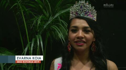 Video for 'She's proven that anything can happen' - Former prisoner wins Miss Rotorua