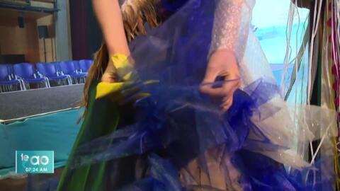 Video for Tamariki design eco-friendly wearable art