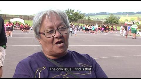 Video for A netball legend in her own right at Te Hui Ahurei a Tuhoe