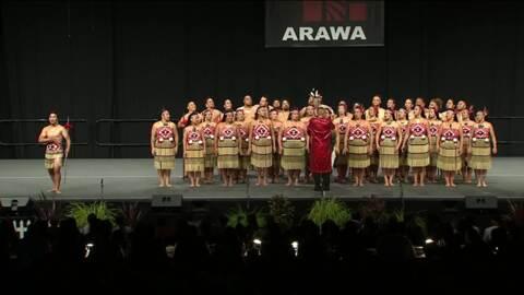 Video for 2020 Kapa Haka Regionals, Tuhourangi Ngāti Wahiao, Whakaeke