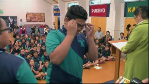 Video for Low decile schools benefit from eye screening programme