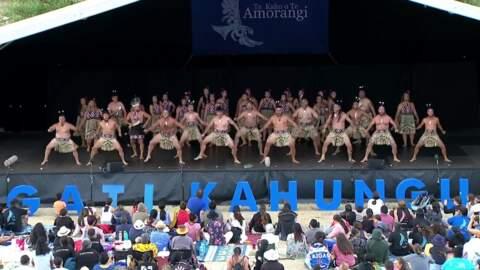 Video for 2020 Kapa Haka Regionals, Tamatea Arikinui, Haka