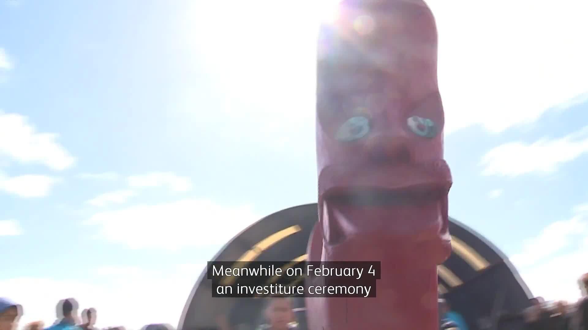 Video for Waitangi Day preparations well underway