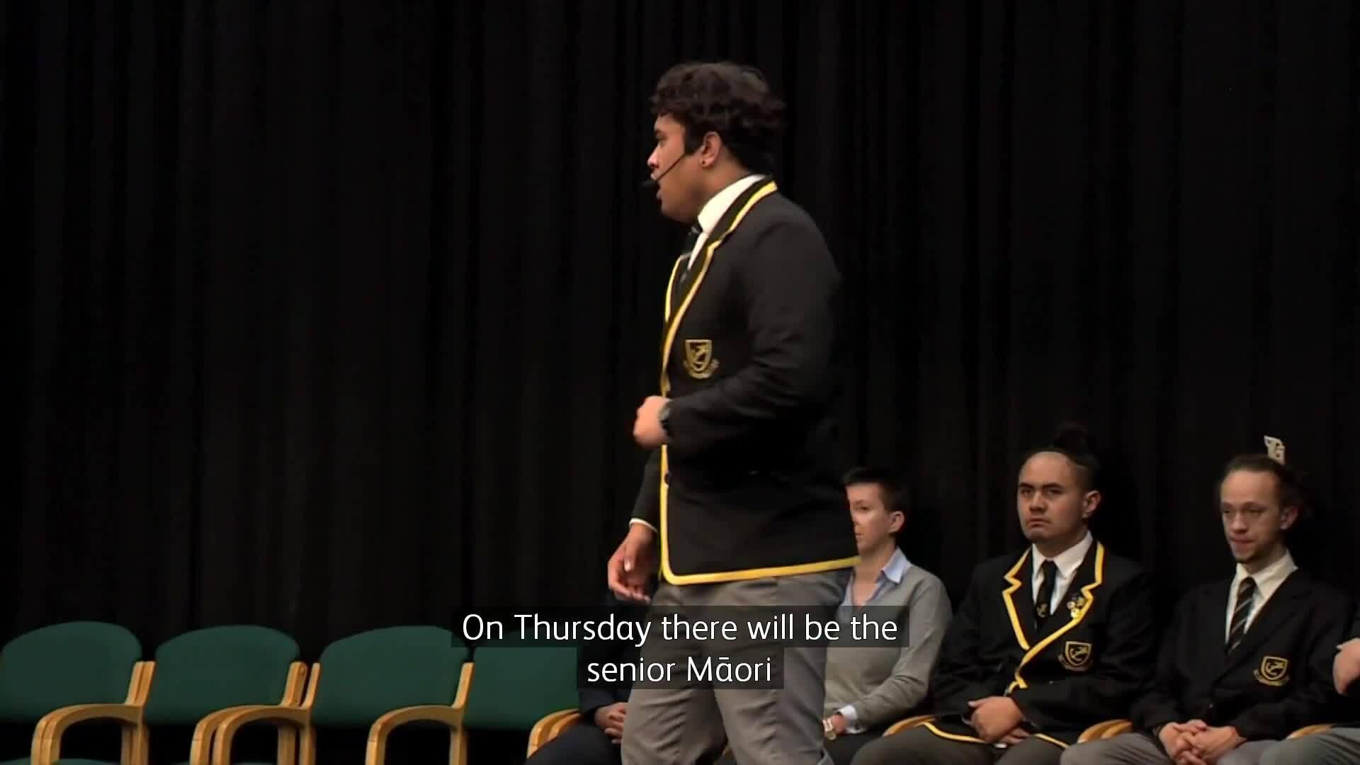 Video for Northland schools go head-to-head in Ngā Manu Kōrero comp