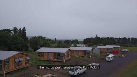 Video for Kōkōhīnau Marae papakāinga opens