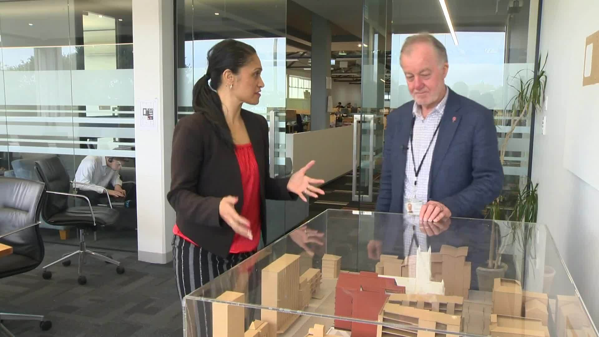 Video for Auckland City Mission shifts to temporary premises