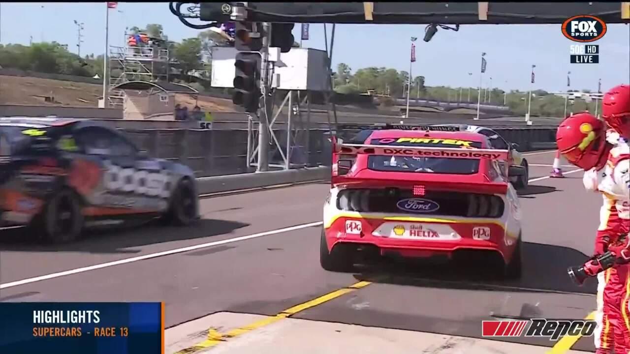 De Pasquale Wins Chaotic Darwin Opener Supercars