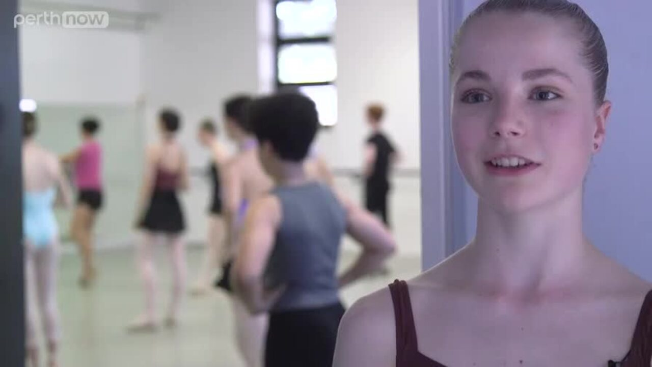 At just 15 years old, Perth ballerina Lucy Shoeman has been accepted into the WA ballet company, a position reserved for the best in the state, and she's the youngest ever to be selected.
