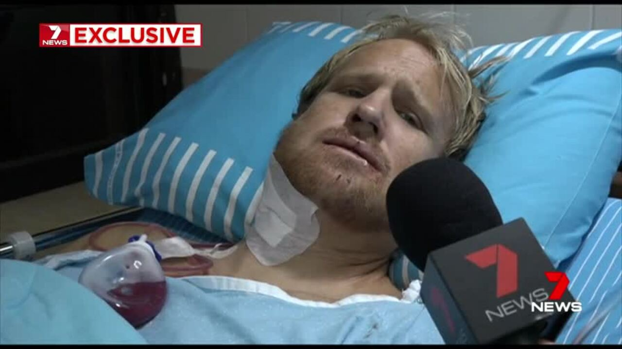 Ben de Jonge suffered a broken jaw after a violent confrontation with security guards at an Israeli airport.