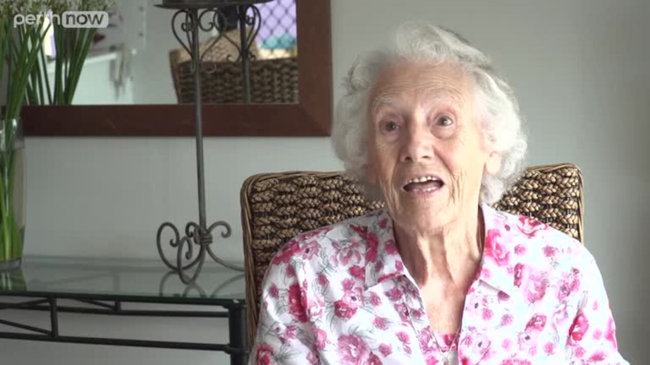 Marjorie Harty could barely walk a year ago. But after the death of her husband, she decided to turn her life around, and on her 90th birthday, she ran around her block.