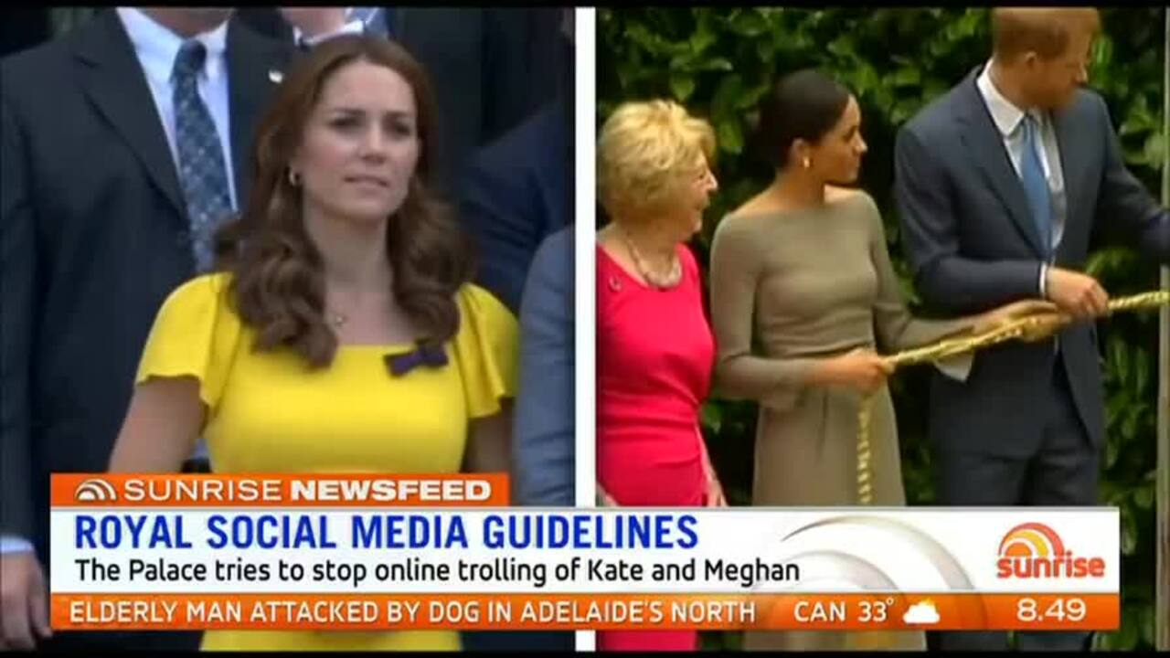 The Royal Family has issued guidelines for those issuing comments on social media sites.