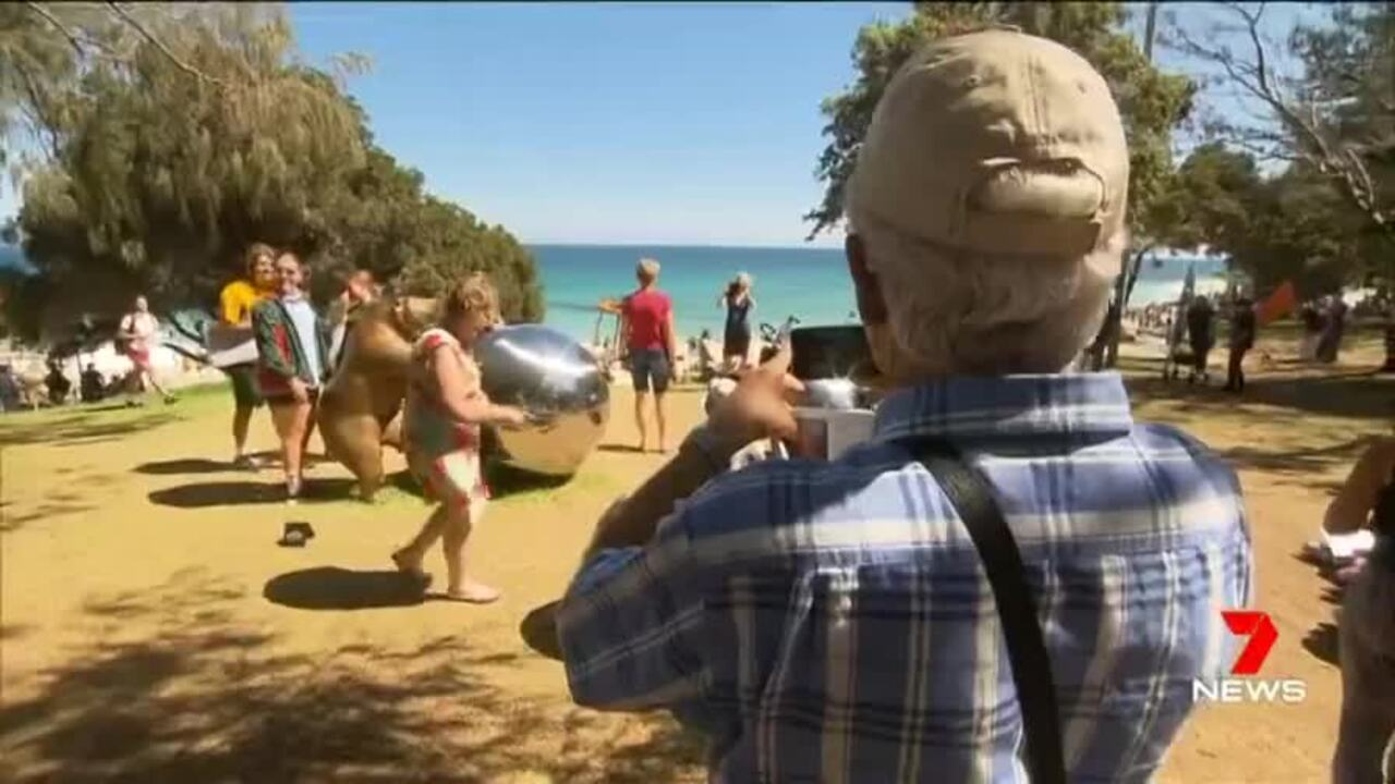 A funding short fall for Sculptures by the Sea could spell the end of the popular art exhibition.