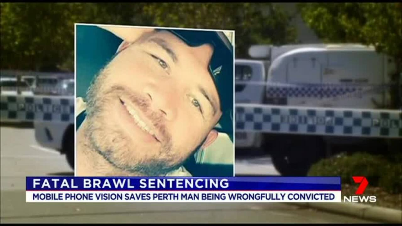 Mobile phone vision has saved Jordan Peter Clarke from a life sentence over an attack he wasn't guilty of.