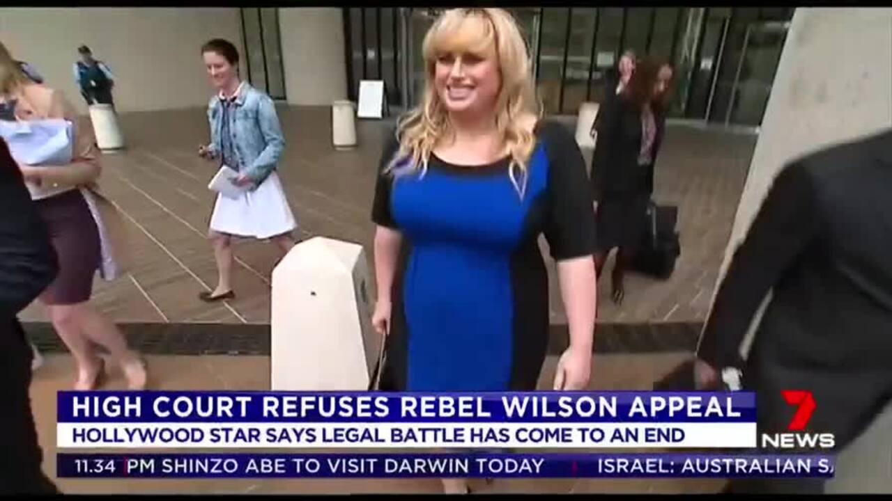 The High Court has refused Rebel Wilson's bid to appeal a ruling that knocked almost $4 million from her defamation payout