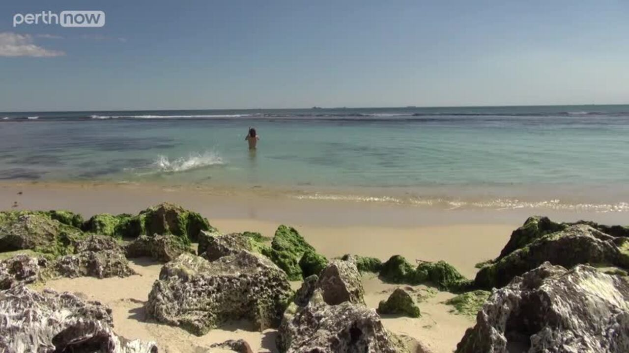 It is one of Perth's most iconic beaches, but not many people know the fascinating history behind how Mettams Pool came to be. Video: Anna Hay.
