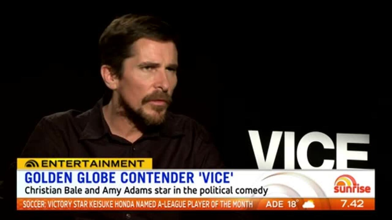 Christian Bale had a transformation to play former US President Dick Cheney in 'Vice'