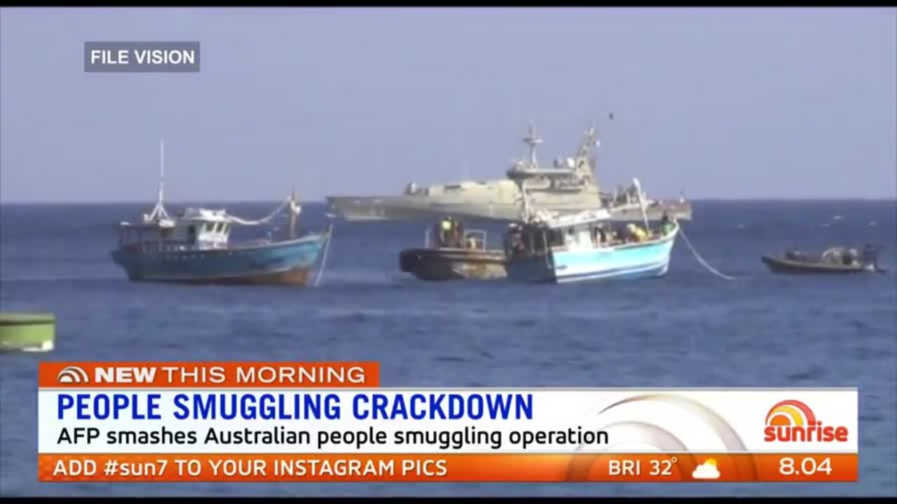 The AFP assisted Malaysian authorities to stop 34 people leave the country by boat after being promised resettlement in Australia