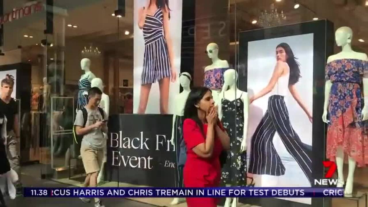 One in five Australians are expected to go shopping this weekend spending a whopping $320 million