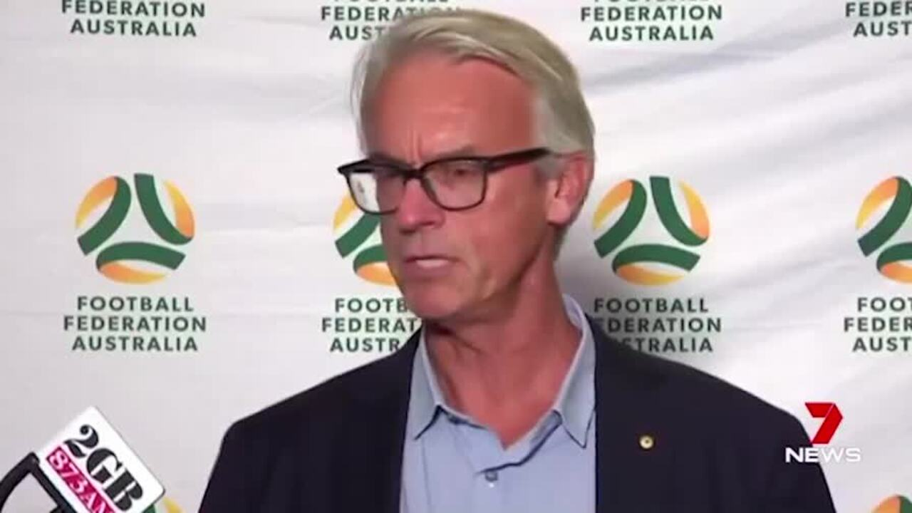 Football Federation Australia chief David Gallop failed to expand on reasons for the shock sacking of Matildas coach Alen Stajcic.