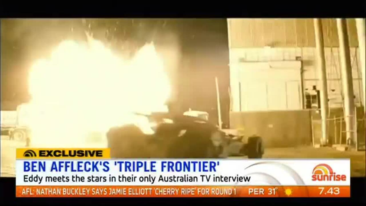 Eddy meets the stars in their only Australian TV interview.