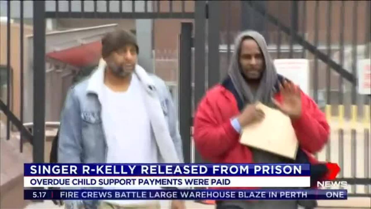 The overdue child support payments keeping him behind bars were eventually paid.