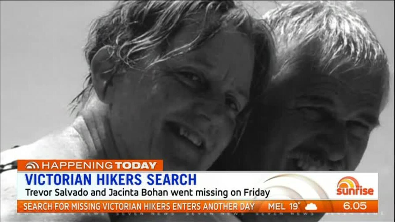 Trevor Salvado and Jacinta Bohan went missing on Friday.