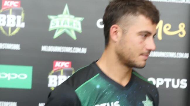 Marcus Stoinis ahead of Big Bash match against Sydney