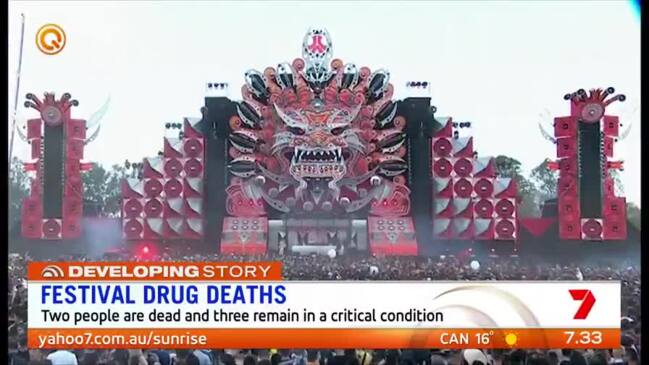 Sydney music festival deaths: Two young people dead at Defqon 1