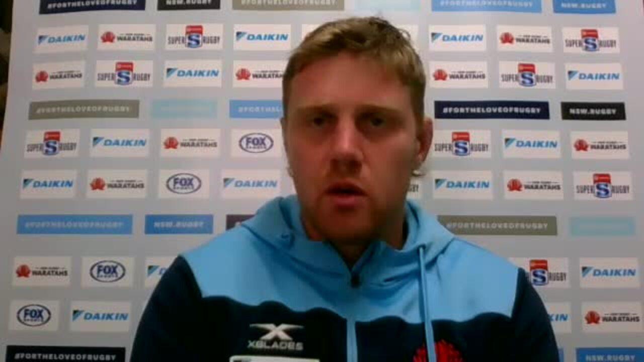Tom Staniforth interview - Super Rugby AU week eight